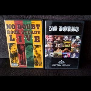 ⚡Sale⚡No Doubt music video/concert DVDs
